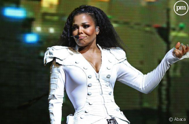 Janet Jackson sur la scène de l'Olympia à Paris en juin 2011