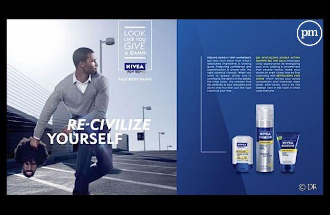 La publicité Nivea incriminée