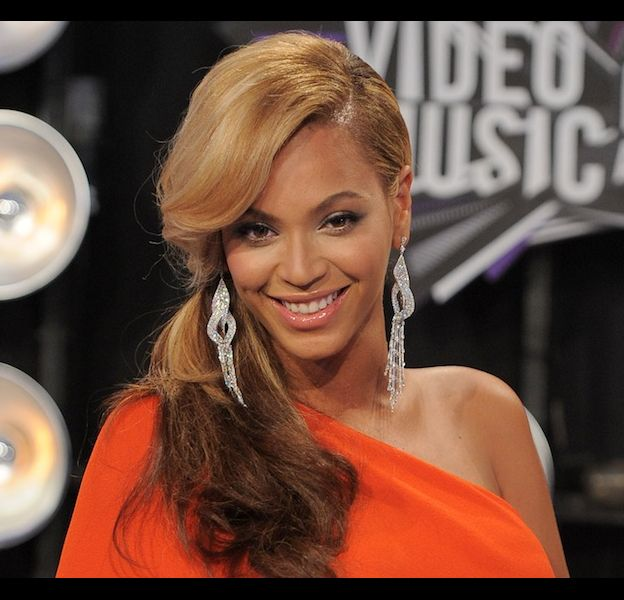 "Beyoncé lors des ""MTV Video Music Awards 2011"""