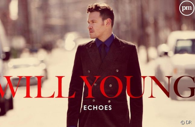 """Will Young sur la pochette de son album """"Echoes"""""""