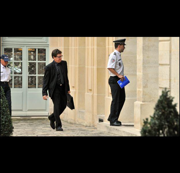 Des policiers au domicile de DSK et Anne Sinclair, le 7 septembre 2011.