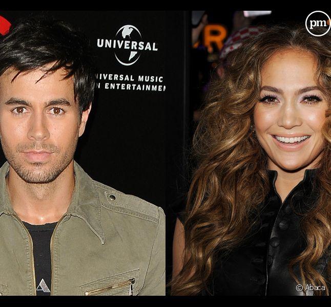 Enrique Iglesias et Jennifer Lopez