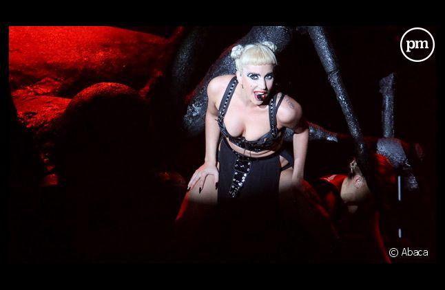 Lady Gaga, le 25 juin 2011.