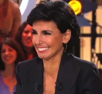 Rachida Dati, invitée du 'Petit Journal' de Canal +.