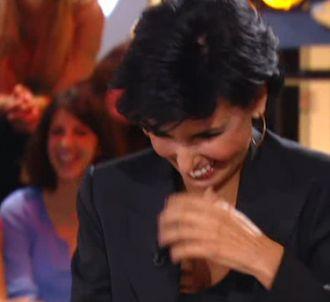 Rachida Dati face à Yann Barthès, le 20 septembre 2011.