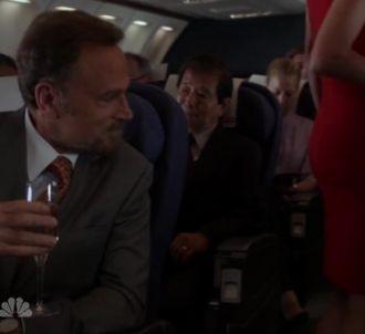Roberto Distasio (Franco Nero) dans l'avion après...