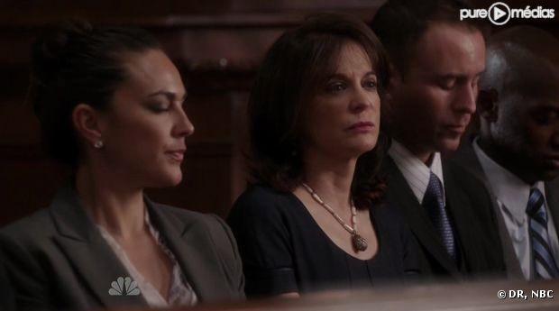 """Kathleen Garrett (au centre) campe la femme de Roberto Distasio dans """"New York Unité Spéciale"""" saison 13"""