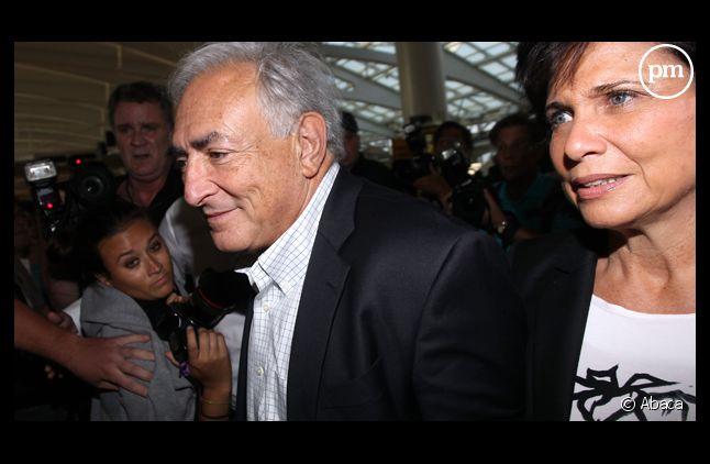 Dominique Strauss-Kahn et Anne Sinclair.