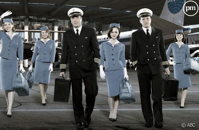 "Le cast de ""Pan Am"""