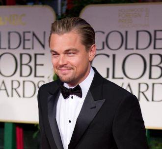 Leonardo DiCaprio sur le tapis rouge des Golden Globes 2012