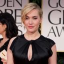 Kate Winslet sur le tapis rouge des Golden Globes 2012