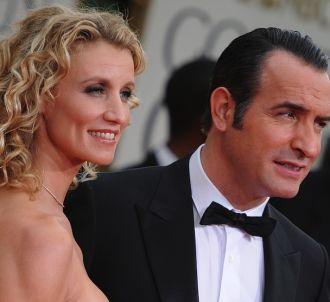 Alexandra Lamy et Jean Dujardin sur le tapis rouge des...
