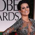 Lea Michele sur le tapis rouge des Golden Globes 2012