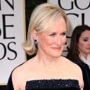 Glenn Close sur le tapis rouge des Golden Globes 2012