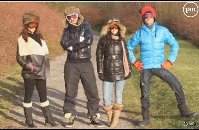 """""""Les Ch'tis font du ski""""."""