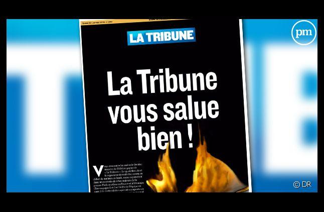 Le numéro 4903 de La Tribune, le dernier.