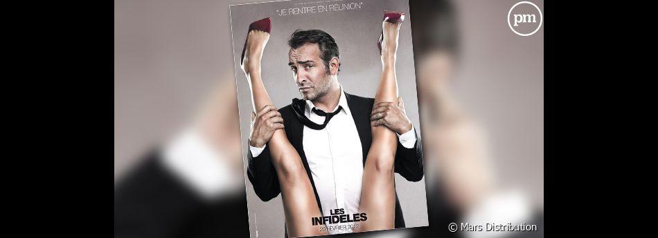 """""""Les Infidèles"""" avec Jean Dujardin et Gilles Lellouche."""