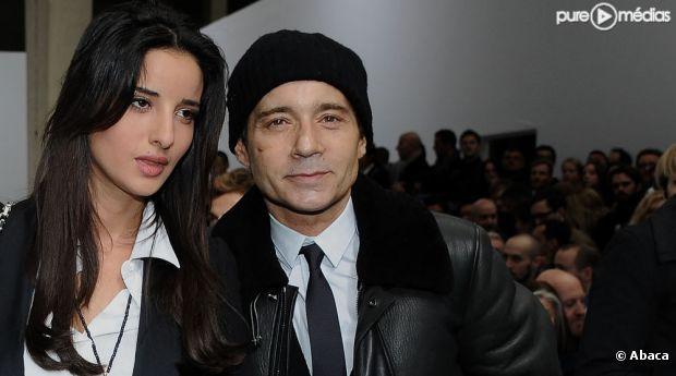 Jean-Luc Delarue et sa compagne, le 22 janvier 2012