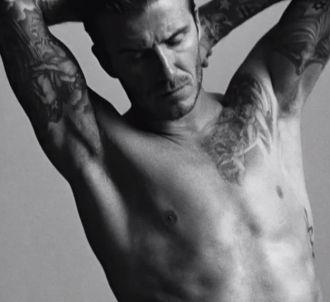 David Beckham pour la pub H&M du Super Bowl 2012