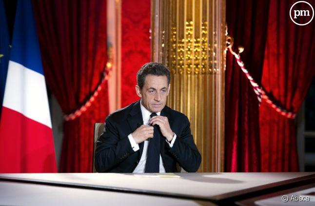 Nicolas Sarkozy, le 30 janvier 2011.