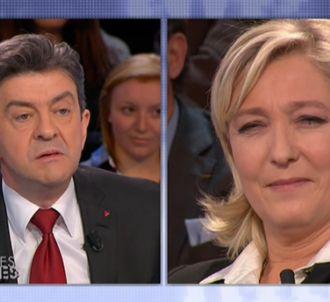 Le non-débat Mélenchon/Le Pen (Partie 1).<br />