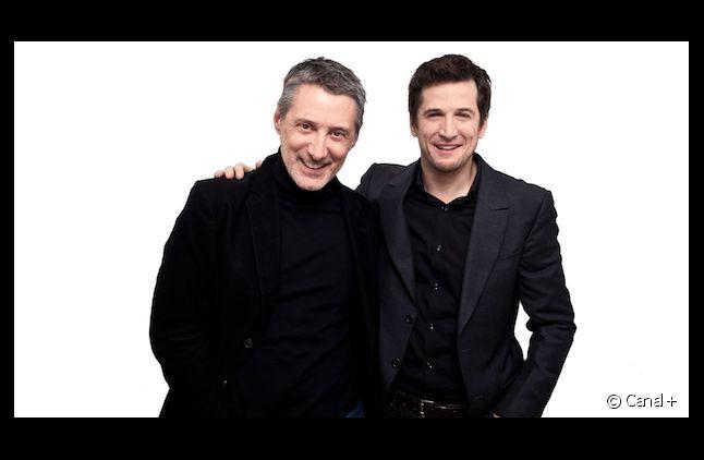 Antoine de Caunes et Guillaume Canet