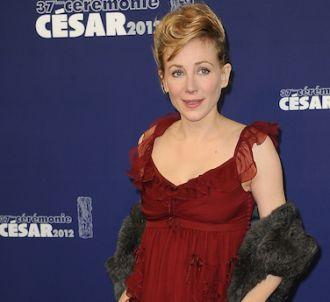 Julie Depardieu sur le tapis rouge de la 37e nuit des César