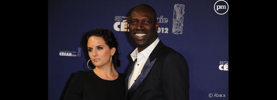 Hélène Sy et Omar Sy sur le tapis rouge de la 37e nuit des César