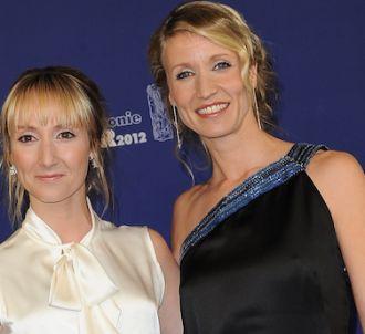 Audrey Lamy et Alexandra Lamy sur le tapis rouge de la...