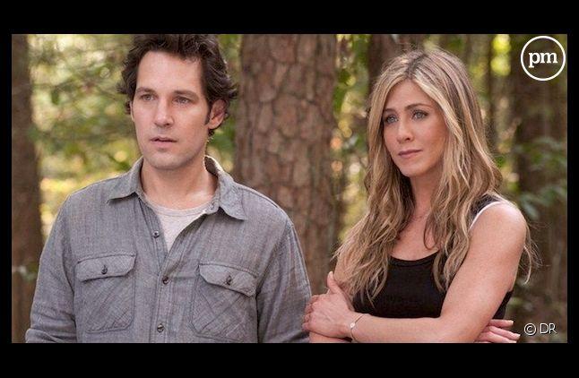 "Paul Rudd et Jennifer Aniston dans ""Wanderlust"""