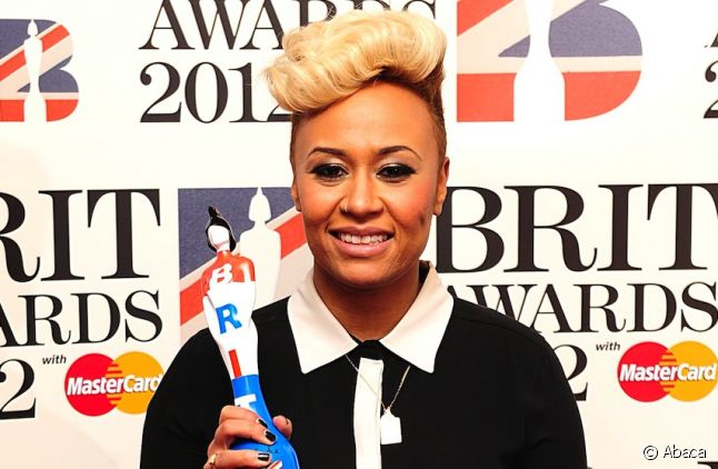 Emeli Sandé aux Brit Awards 2012