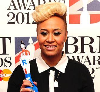 Emeli Sandé aux Brit Awards 2012
