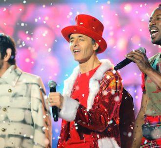Patrick Fiori, Jean-Jacques Goldman et MC Solaar dans 'Le...