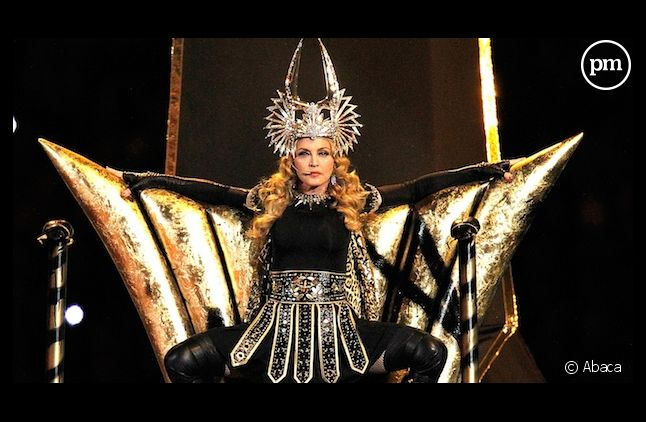 Madonna au Super Bowl 2012