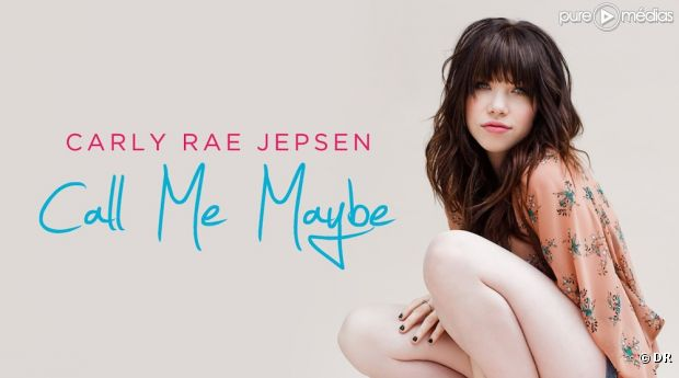 "Carly Rae Jepsen sur la pochette de ""Call Me Maybe"""