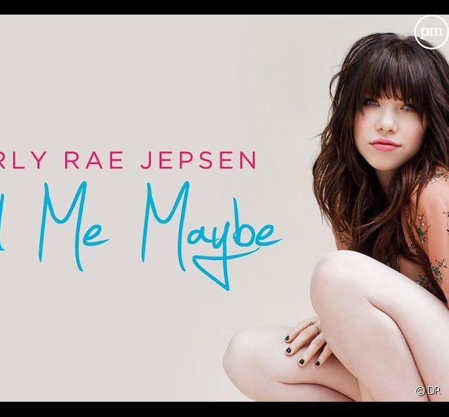 """Carly Rae Jepsen sur la pochette de """"Call Me Maybe"""""""