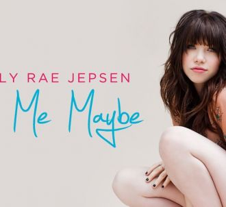 Carly Rae Jepsen sur la pochette de 'Call Me Maybe'