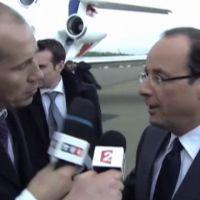Zapping : Guerre des micros entre TF1 et France 2 pour interroger François Hollande