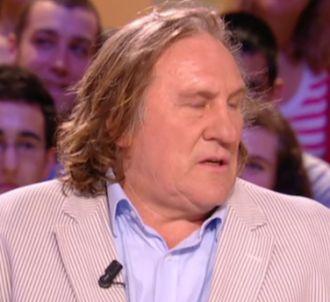 Gérard Depardieu bridé par Edouard Baer au 'Grand Journal'