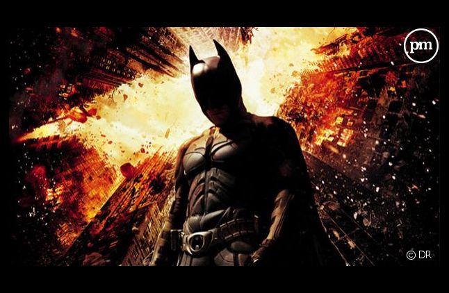 """L'affiche du film """"The Dark Knight Rises"""""""