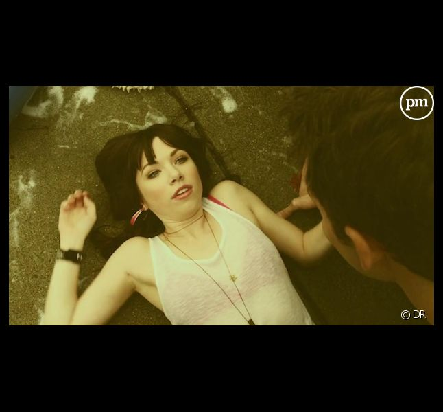 "Carly Rae Jepsen dans le clip de ""Call Me Maybe"""