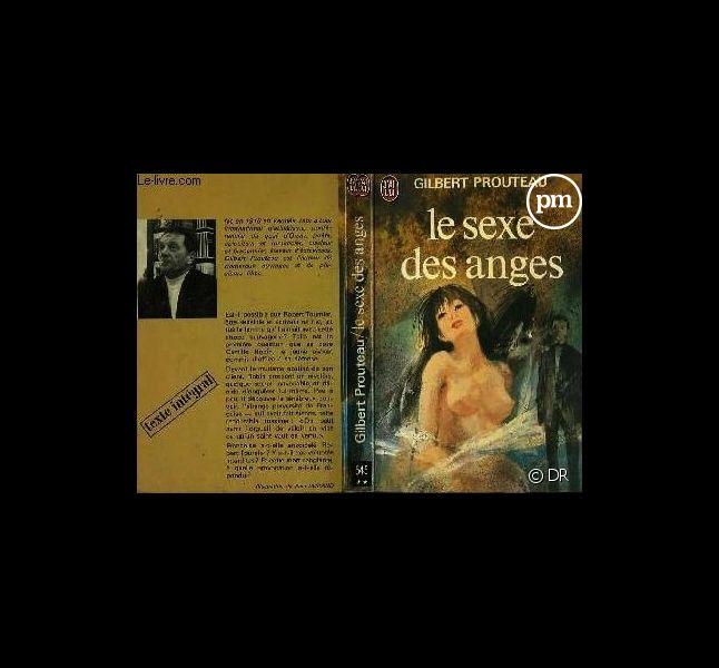 """Couverture du livre """"Le sexe des anges"""" de Gilbert Prouteau"""