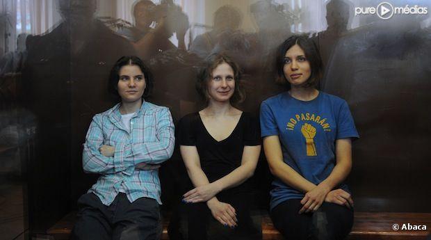 Les Pussy Riot ont été condamnées à 2 ans de camp