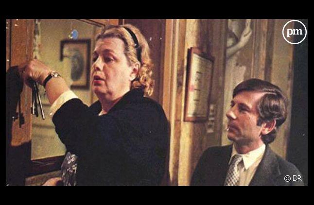 """Scène du film """"Le Locataire"""" de Roman Polanski, sorti en 1976."""