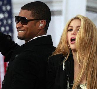 Shakira et Usher remplacent Christina Aguilera et Cee-Lo...
