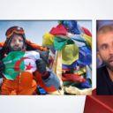 """Le journaliste Nadir Dendoune sur le plateau du """"Grand Journral"""""""