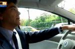 Zapping : Arnaud Montebourg, super VRP de la Renault Zoe, dans laquelle il embarque un journaliste de BFMTV