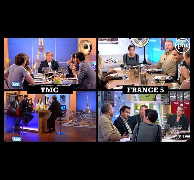 """""""Les 100 plus grands"""" et """"C à vous"""", le 10 octobre 2012"""