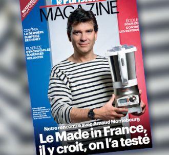 Arnaud Montebourg en marinière à la Une du Parisien...