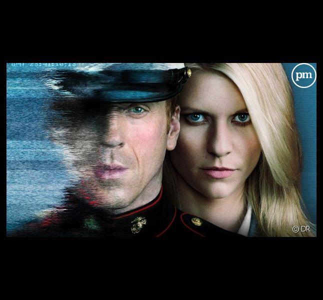 """Damian Brody et Claire Danes dans """"Homeland"""" saison 1"""